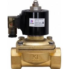 Клапан электромагнитный соленоидный CK-11,СК-12 нормально-закрытый