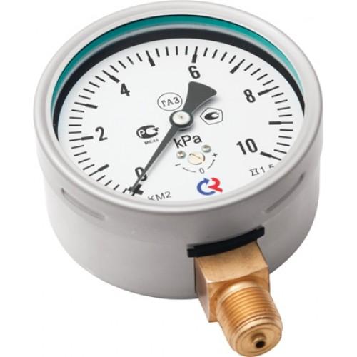 Манометр для измерения низких давлений газов РОСМА КМВ-22