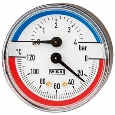 Термоманометры Wika 100.02.63