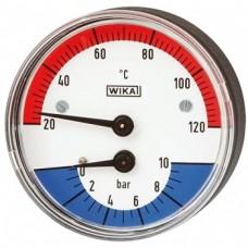 Термоманометры Wika 100.12.80